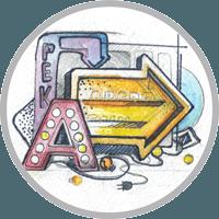 Наружная реклама в Осьминог Вывески, объёмные буквы, короба