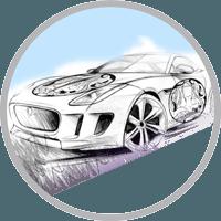 Брендирование автомобилей в Сочи в Осьминог